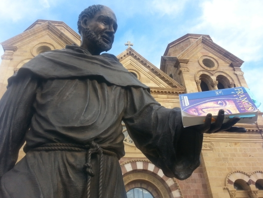 St. Francis statue in Santa Fe
